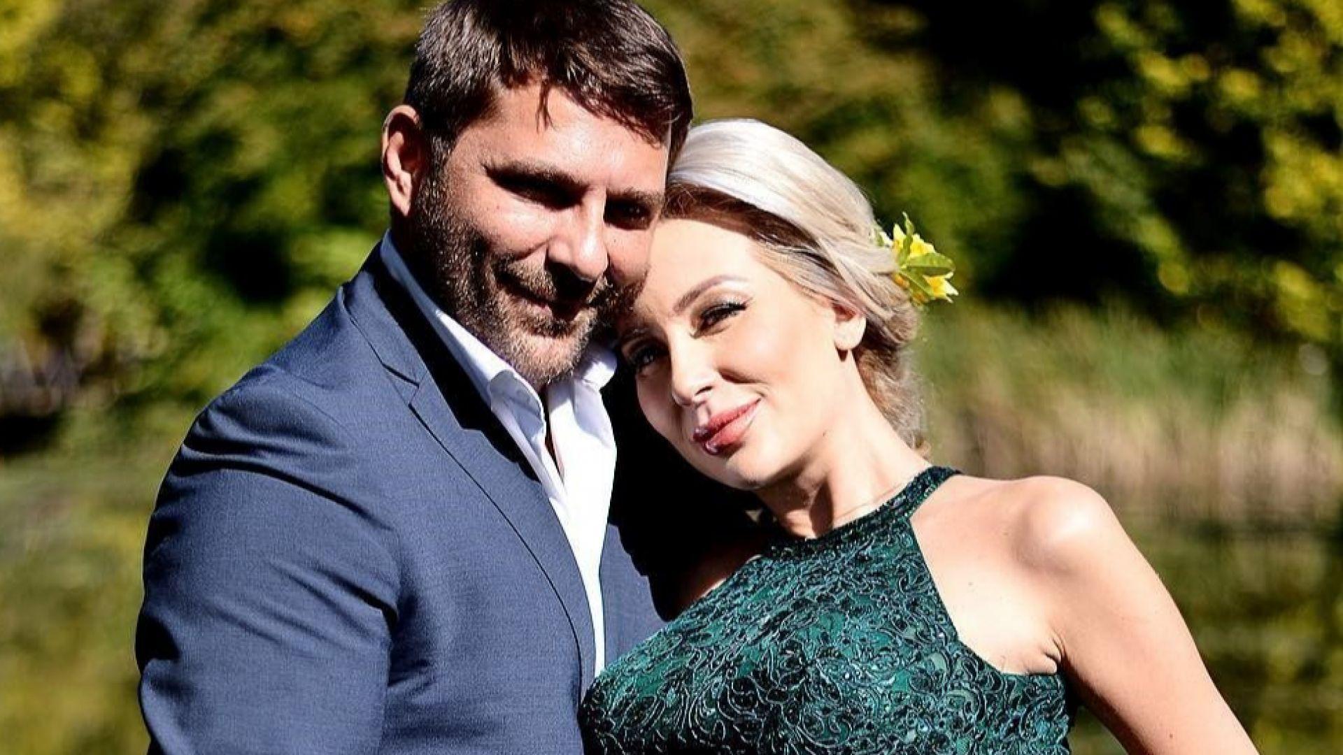 Антония Петрова възхвалява качествата на мъжа си