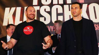 Фюри победил Кличко още преди мача