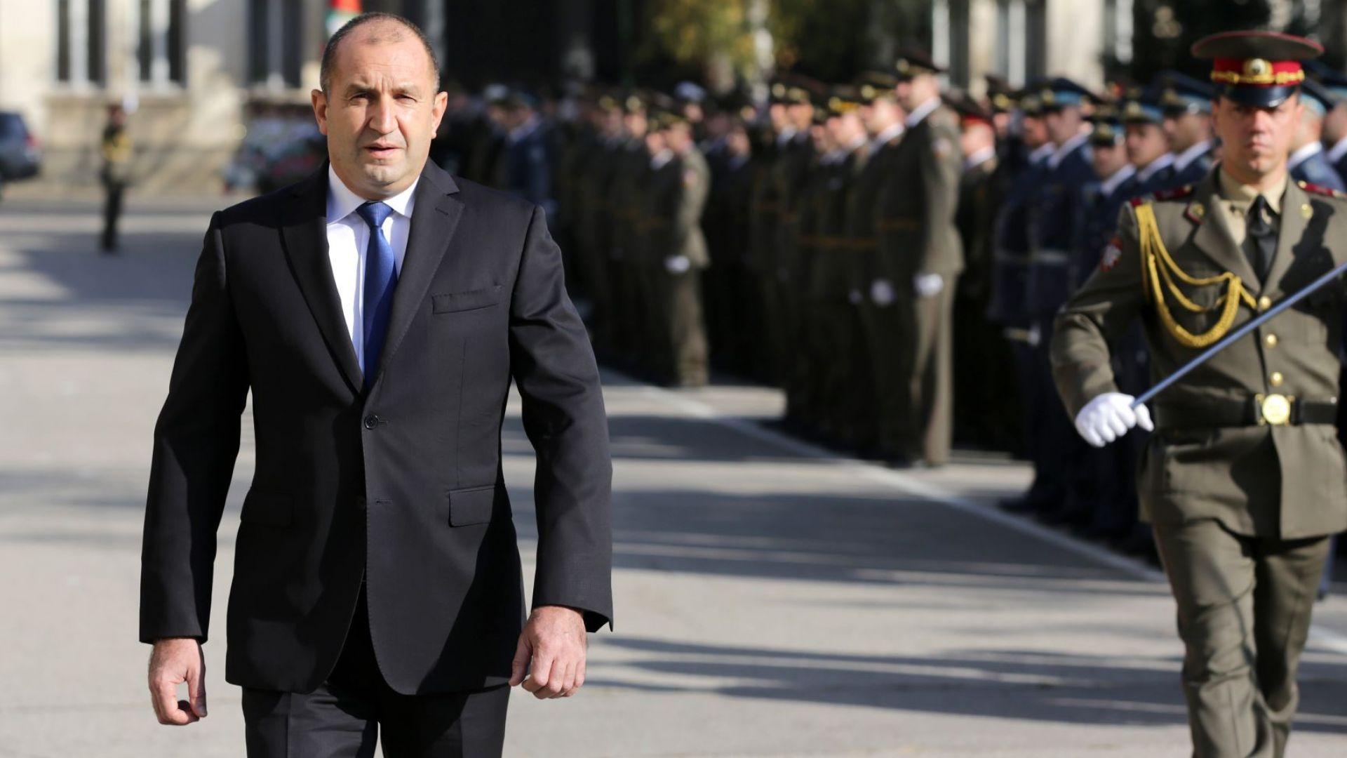 Румен Радев: Акции много, но малко присъди в България