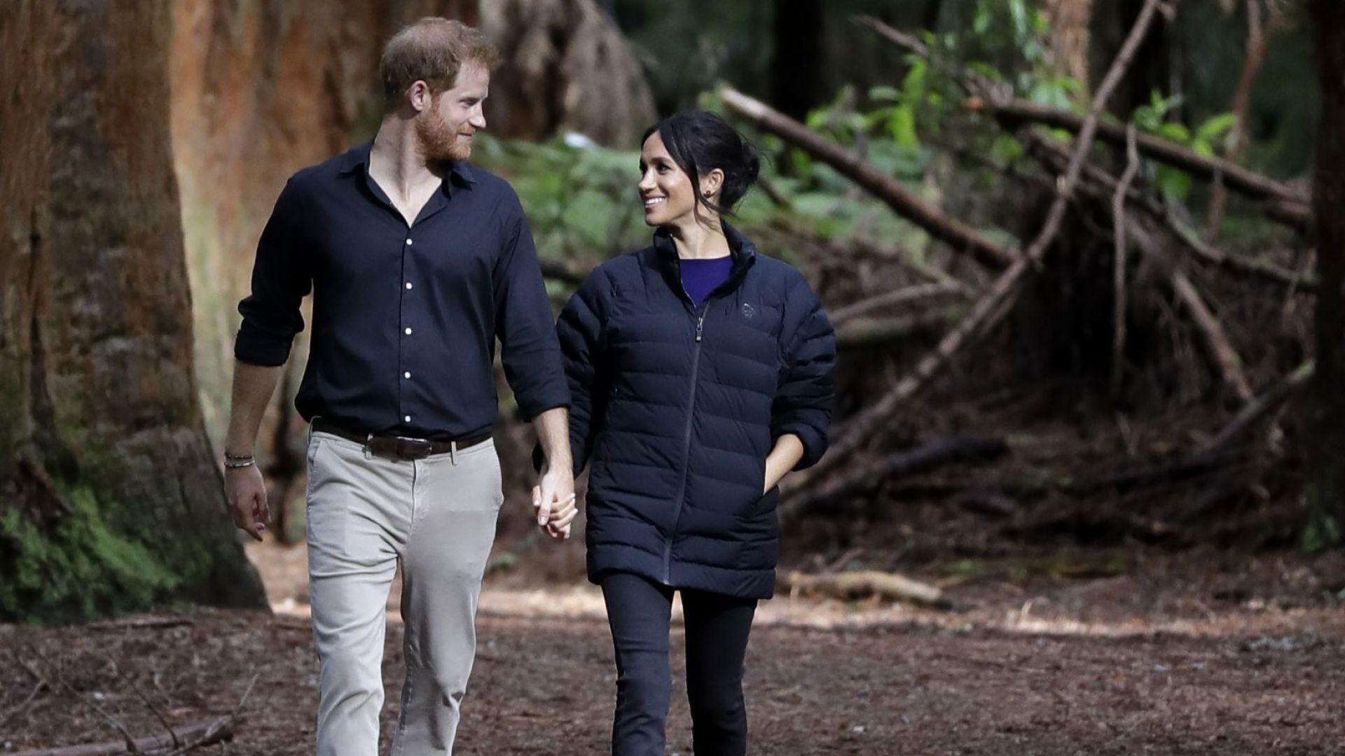 Хари и Меган сменят жилището преди раждането на бебето