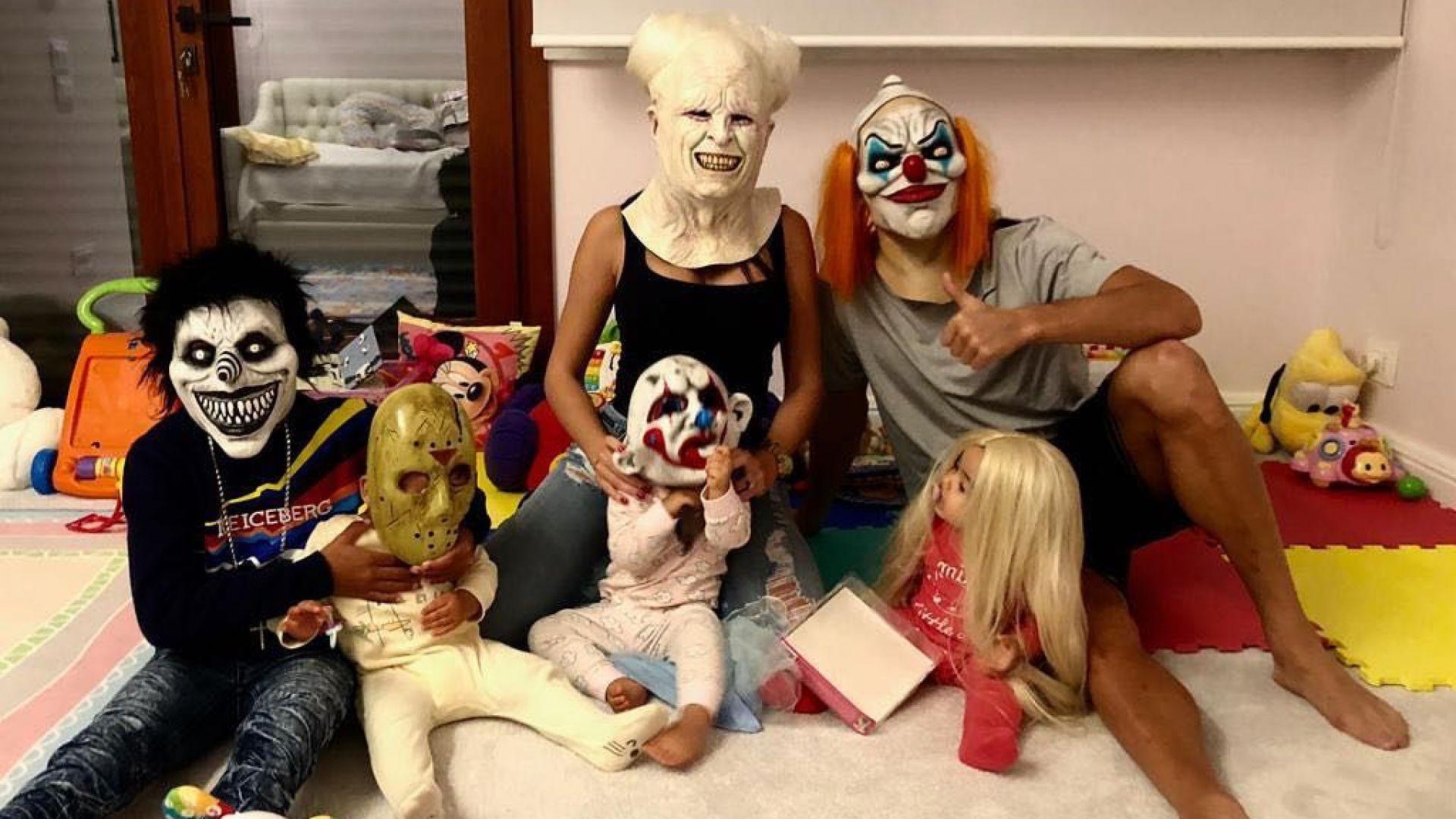 Роналдо с цялото семейство