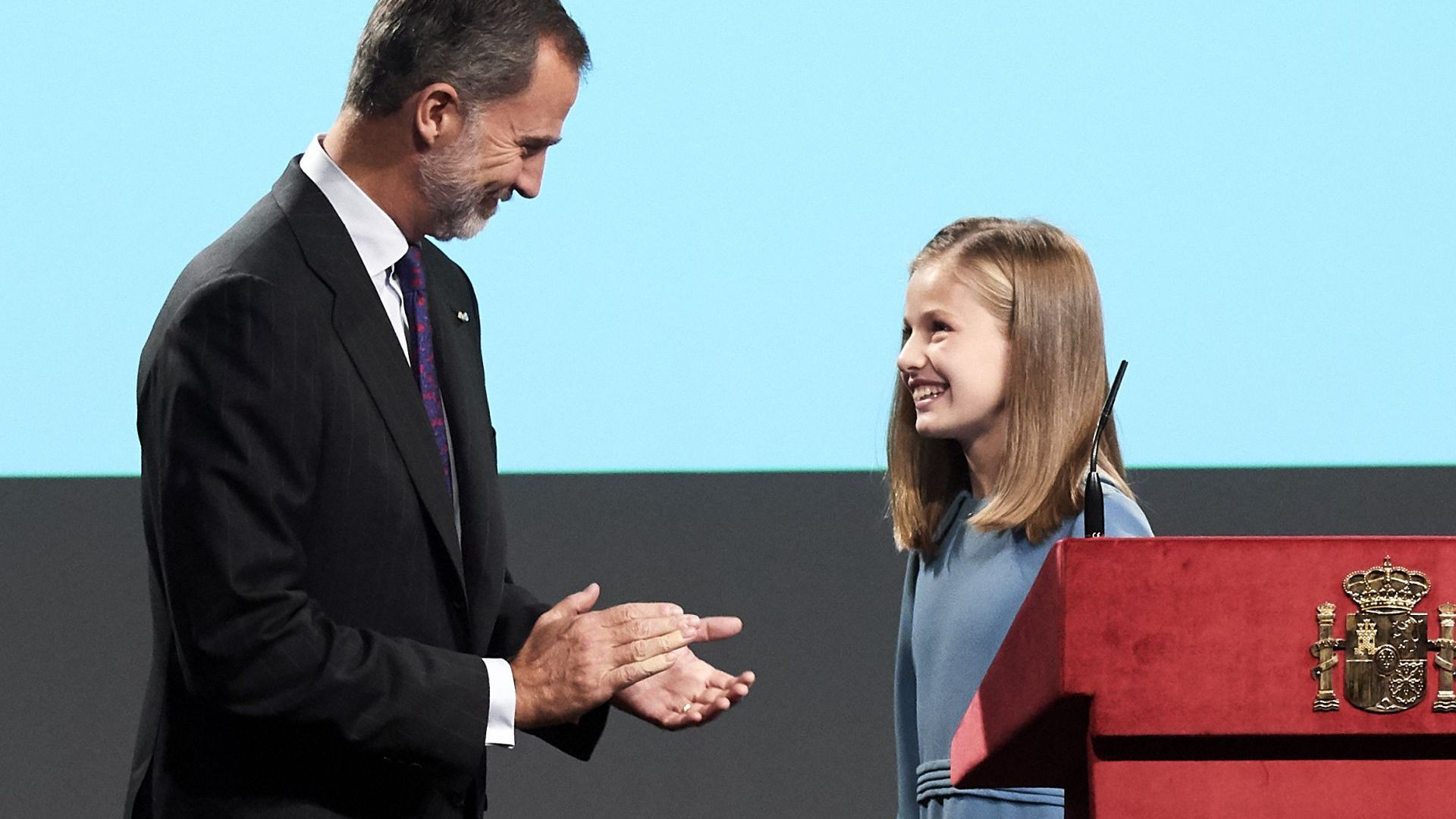 Принцеса Леонор за пръв път взе думата на официално събитие