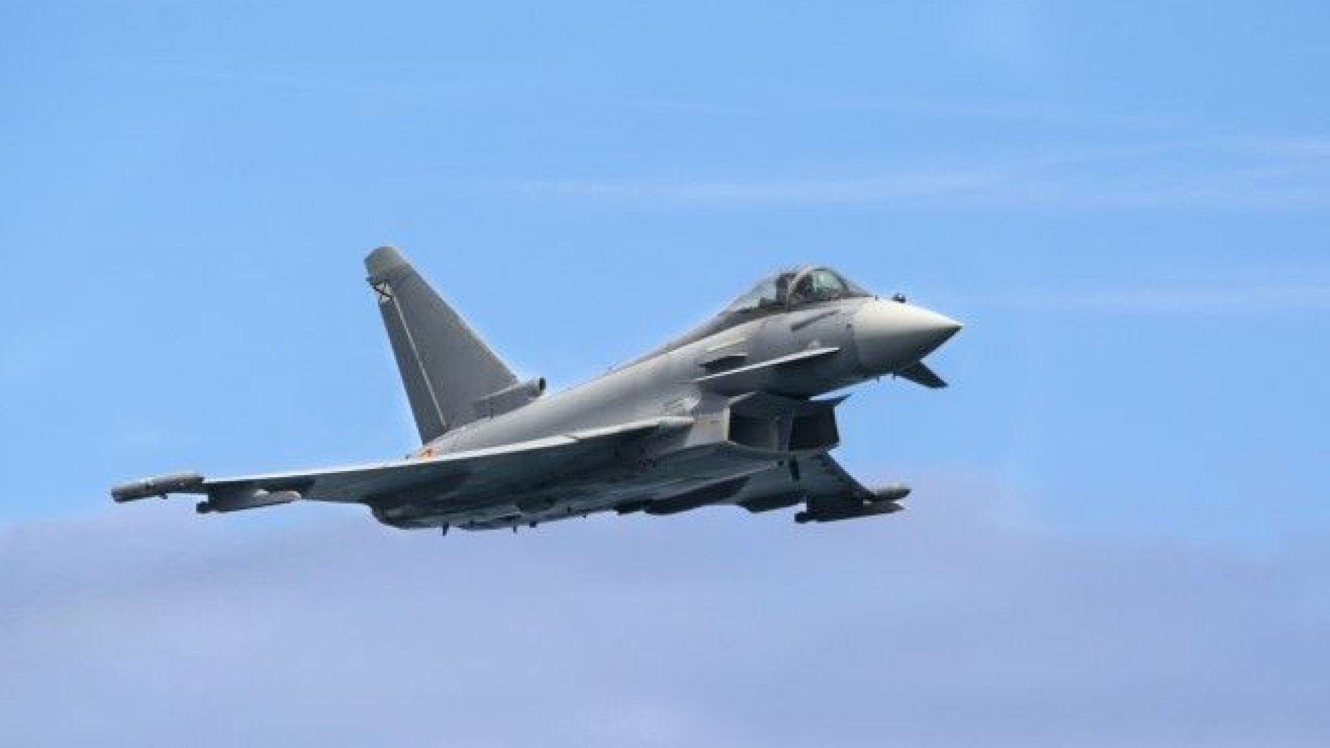 Британски самолети прехванаха подозрителни руски изтребители