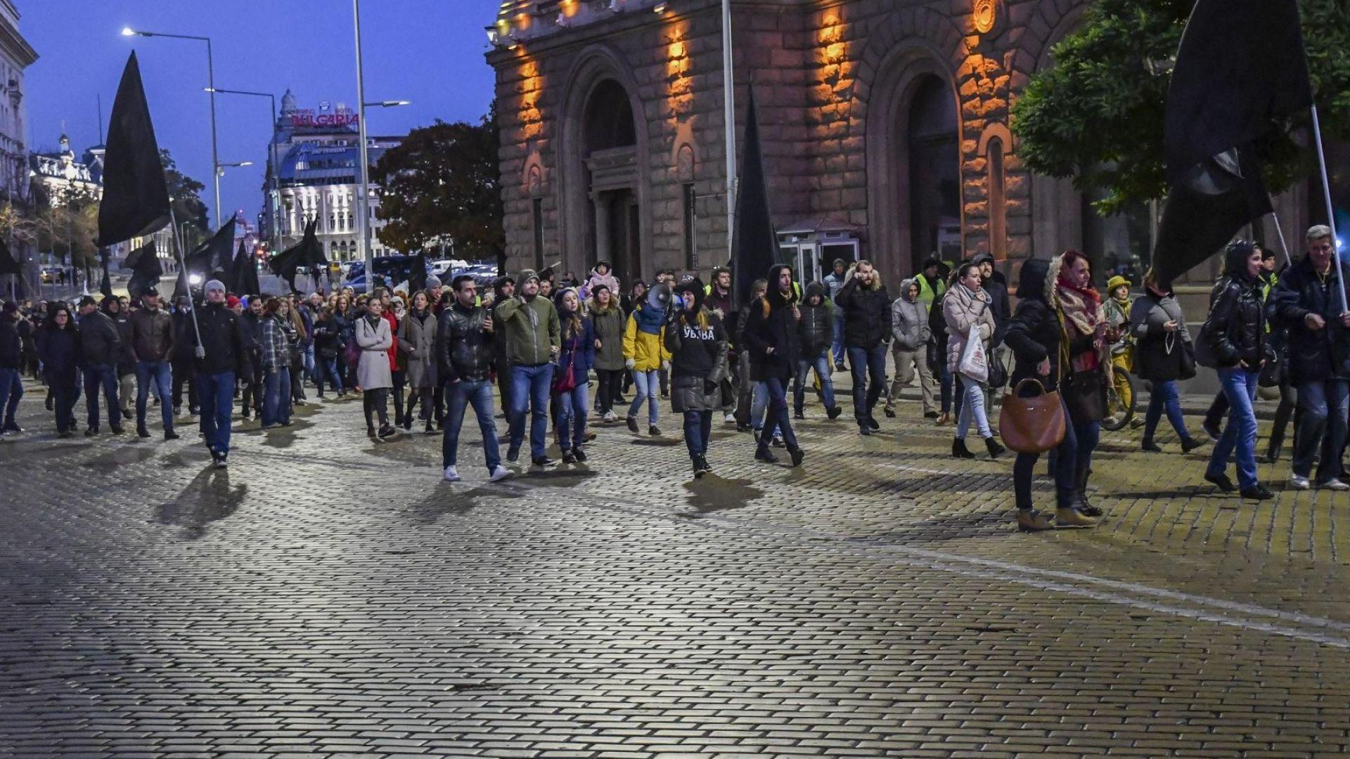 Протестиращите майки блокираха ключово кръстовище в София