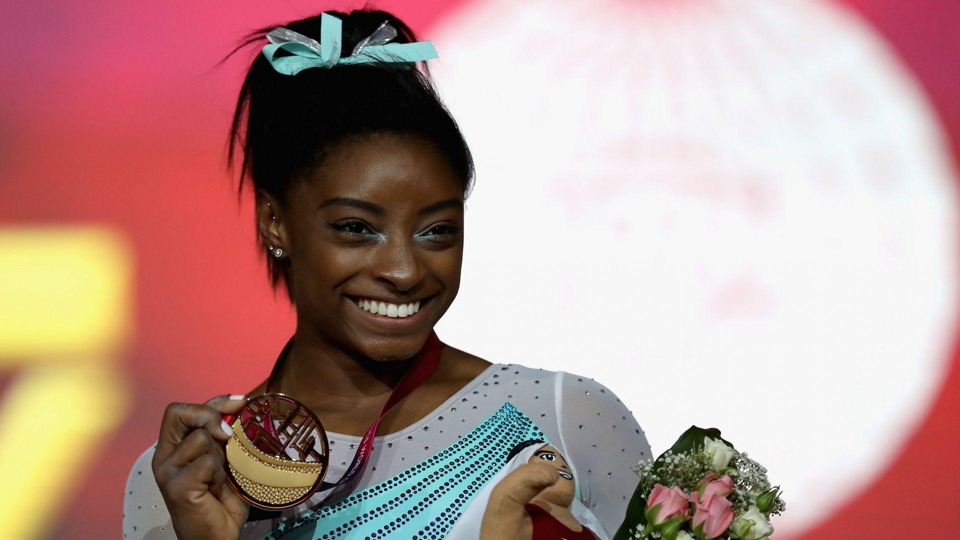 Американка с рекордна титла в гимнастиката
