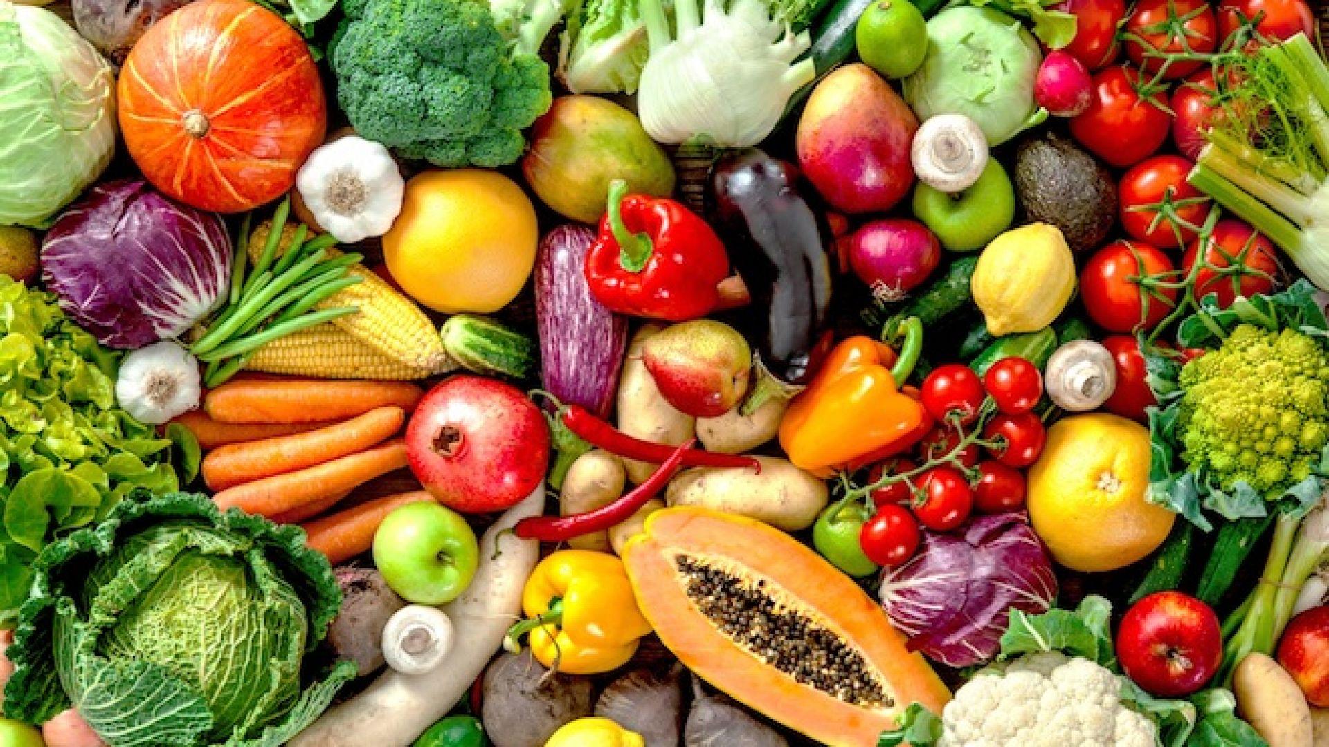 Плодовете и зеленчуците облекчават симптомите на менопаузата