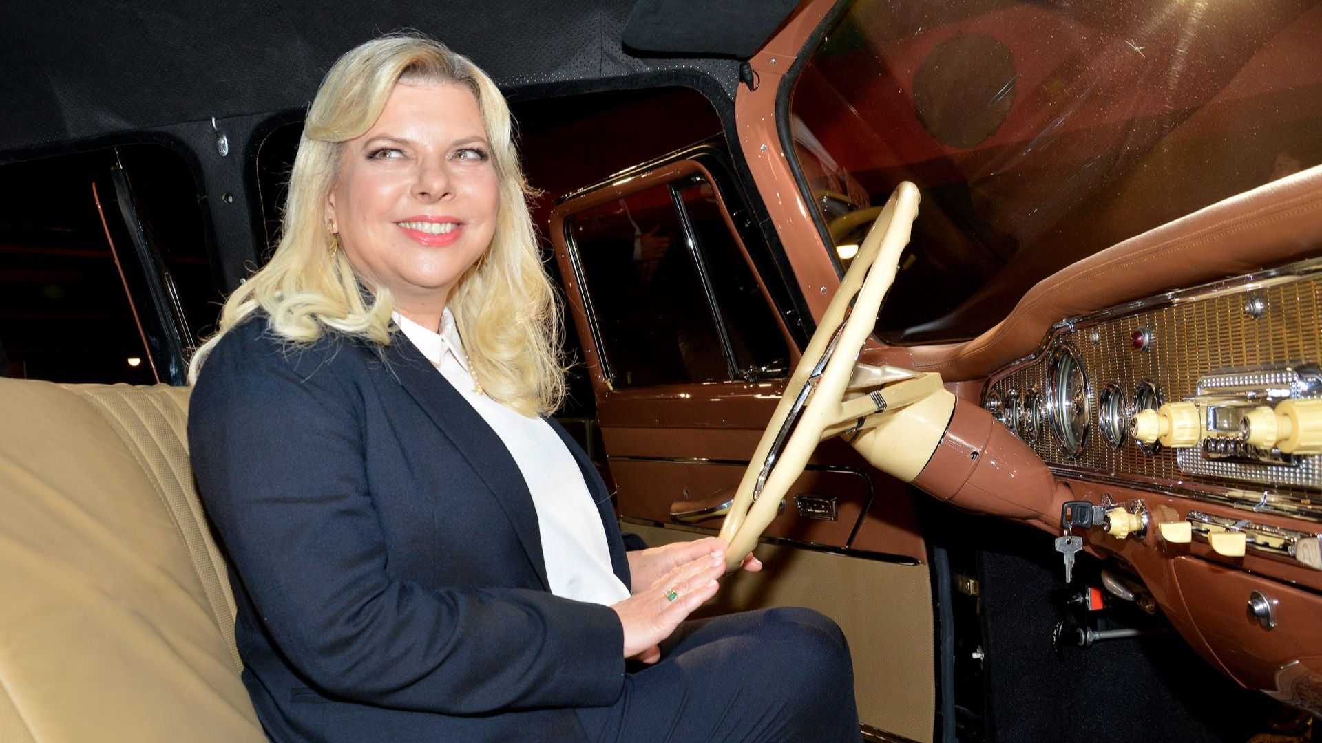 Сара Нетаняху се качи в лимузината на Живков (снимки)