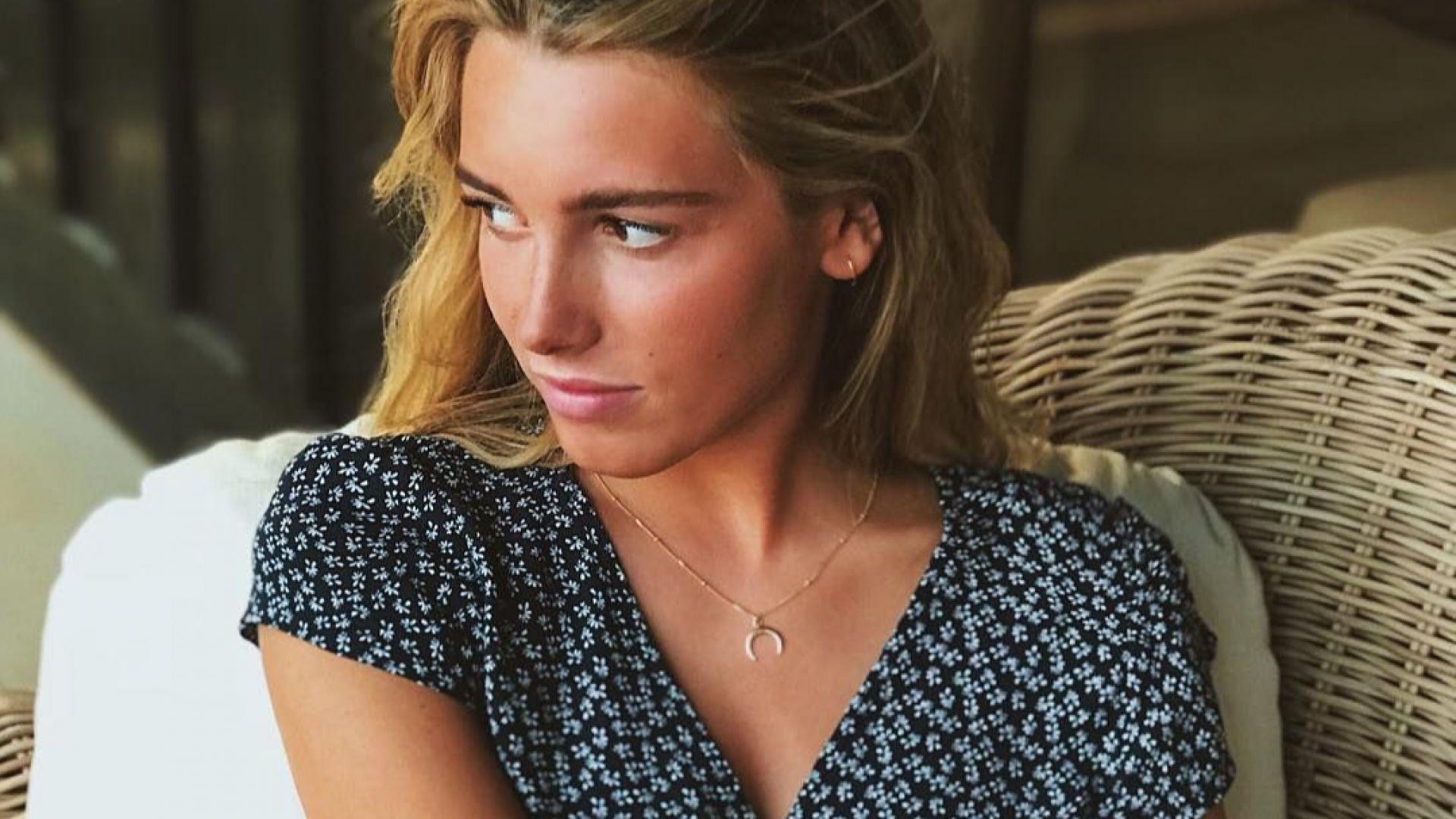 Дъщерята на Луиш Фиго стана модел