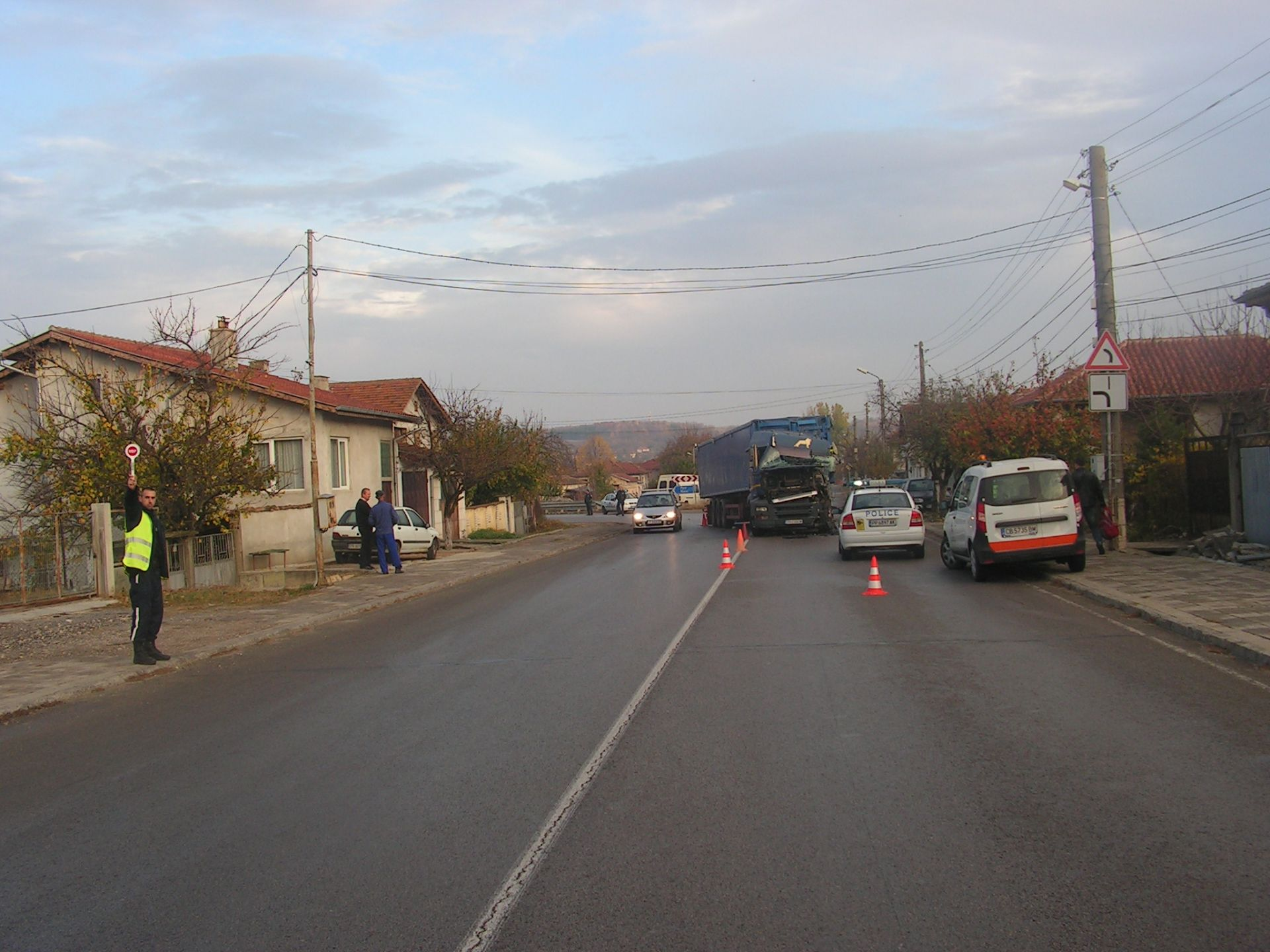ТИР-овете са с българска и румънска регистрации