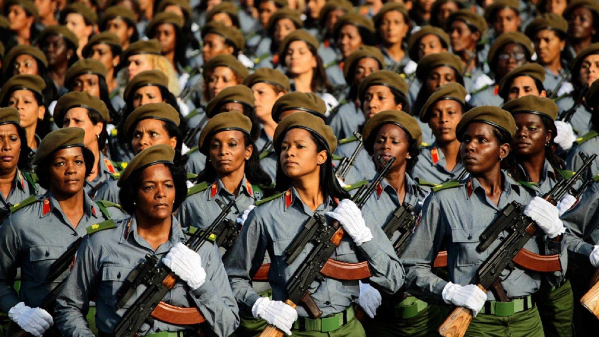 Куба модернизира армията си с помощ от Северна Корея