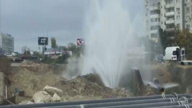 Половин Варна без вода заради голяма авария