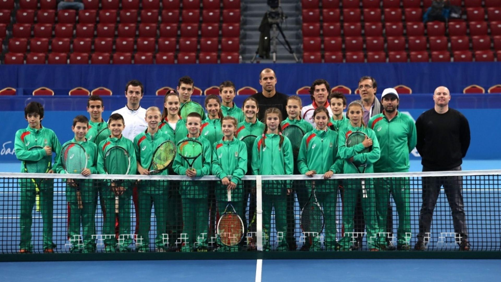 България е на трето място в Европа по брой тенисисти сред първите пет
