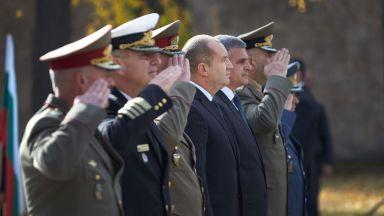 Румен Радев почете паметта на загиналите български воини