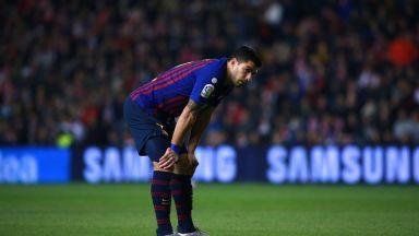 """Куман отново остави Суарес и Видал извън групата на """"Барселона"""""""