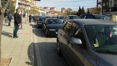 Шофьори протестират в Ямбол, Сливен и Благоевград срещу високите цени на горивата и застраховките