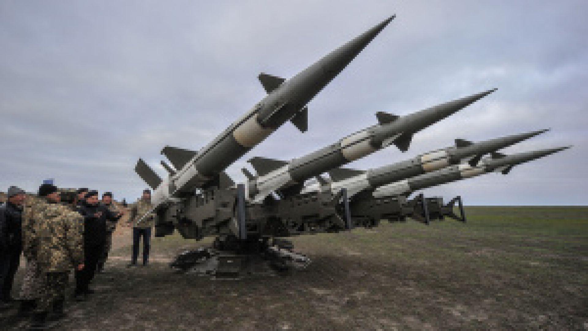 Украйна изстрелва ракети близо до Крим