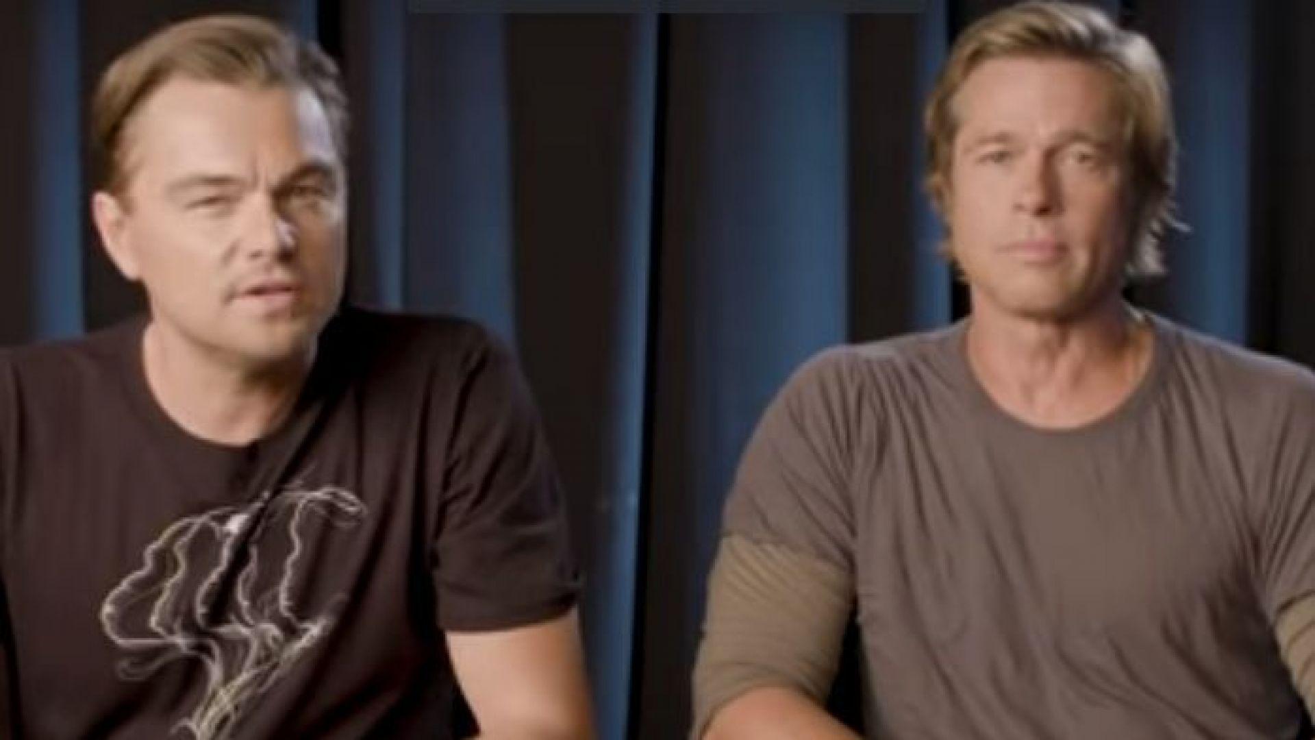 Брад Пит и Ди Каприо зоват американците да гласуват на междинните избори (видео))