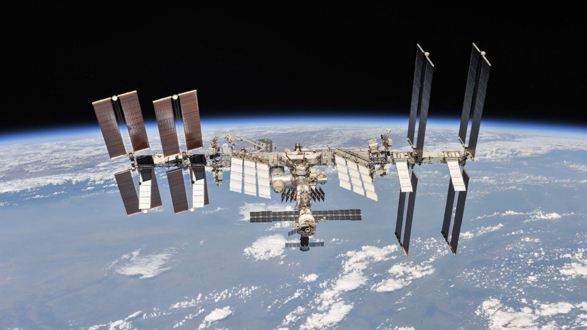 Проблем с електрозахранването възникна на МКС