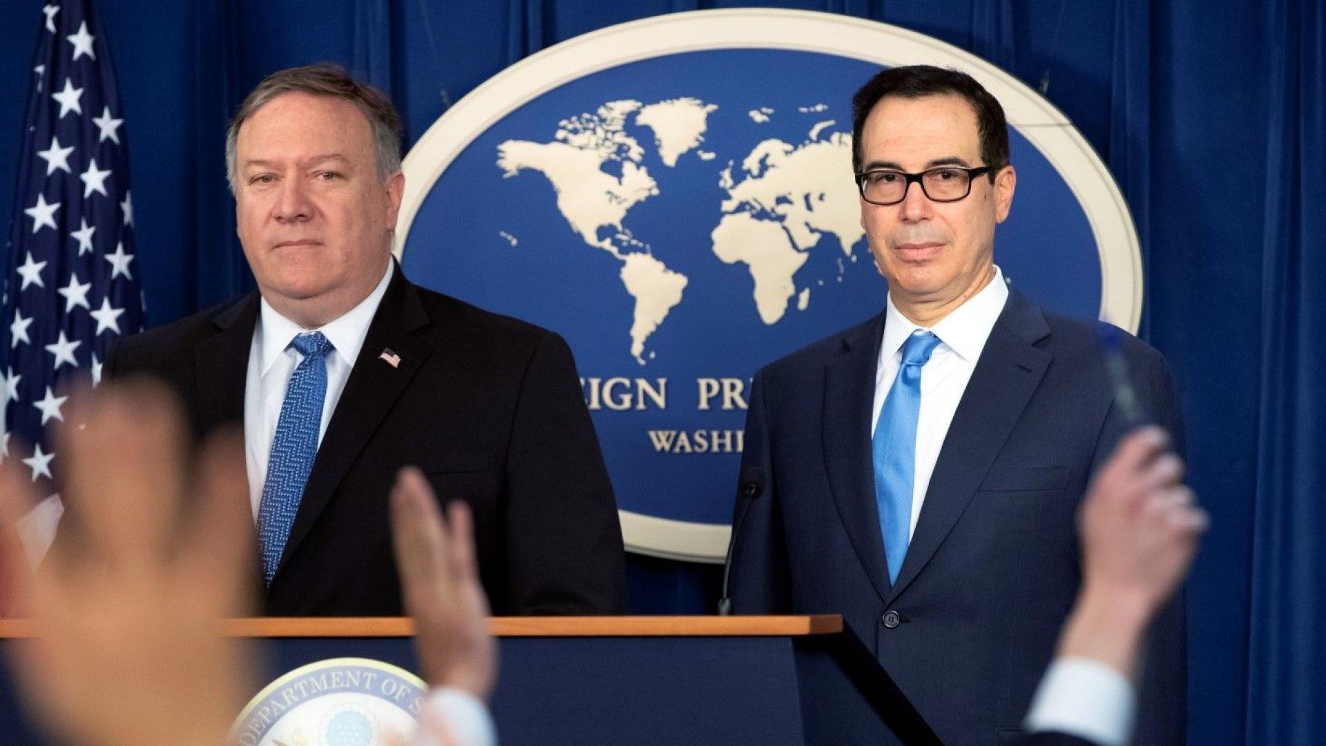 САЩ извадиха 8 страни от санкциите против Иран