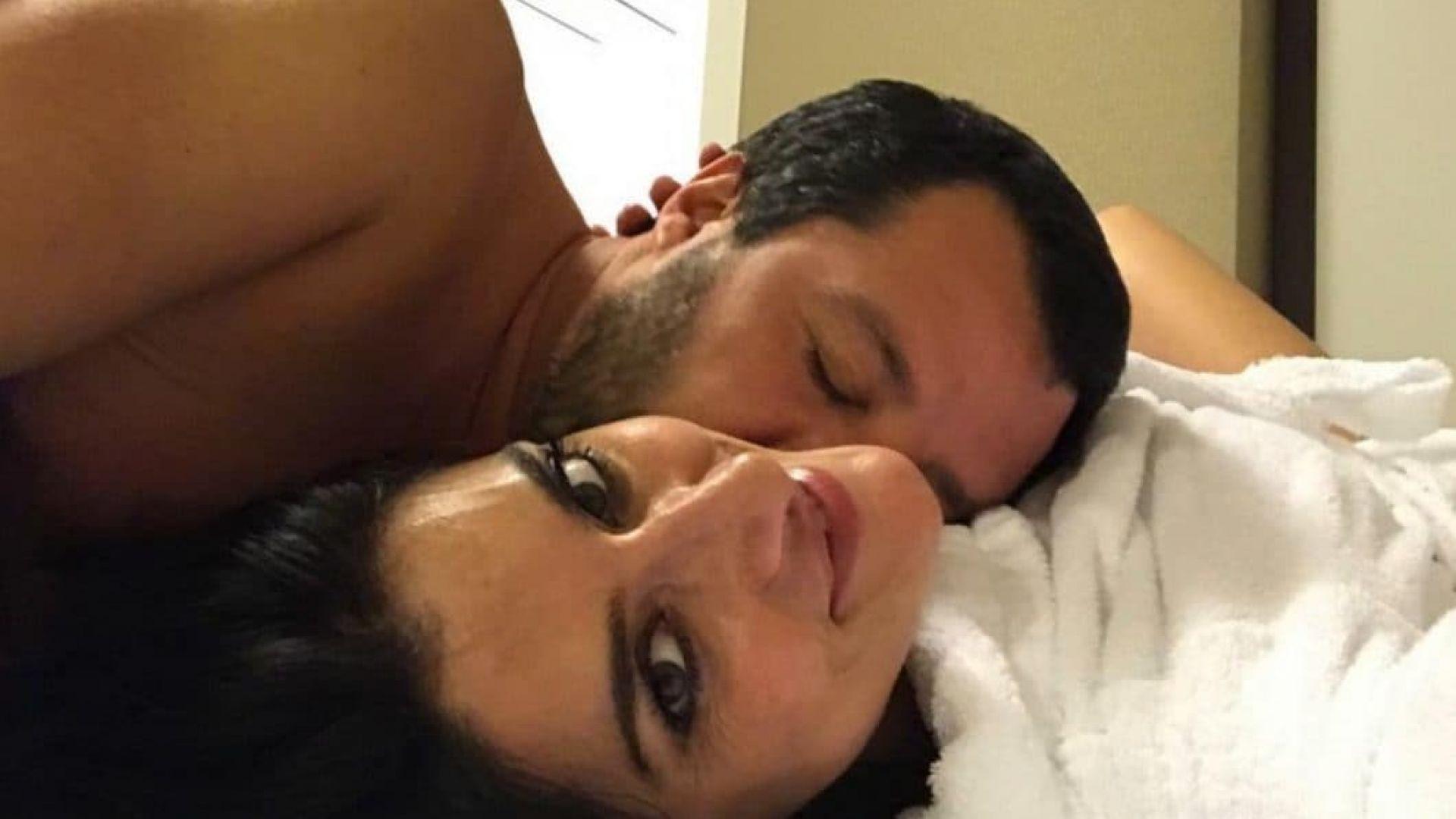 Приятелката на вицепремиера на Италия му каза сбогом със селфи в леглото