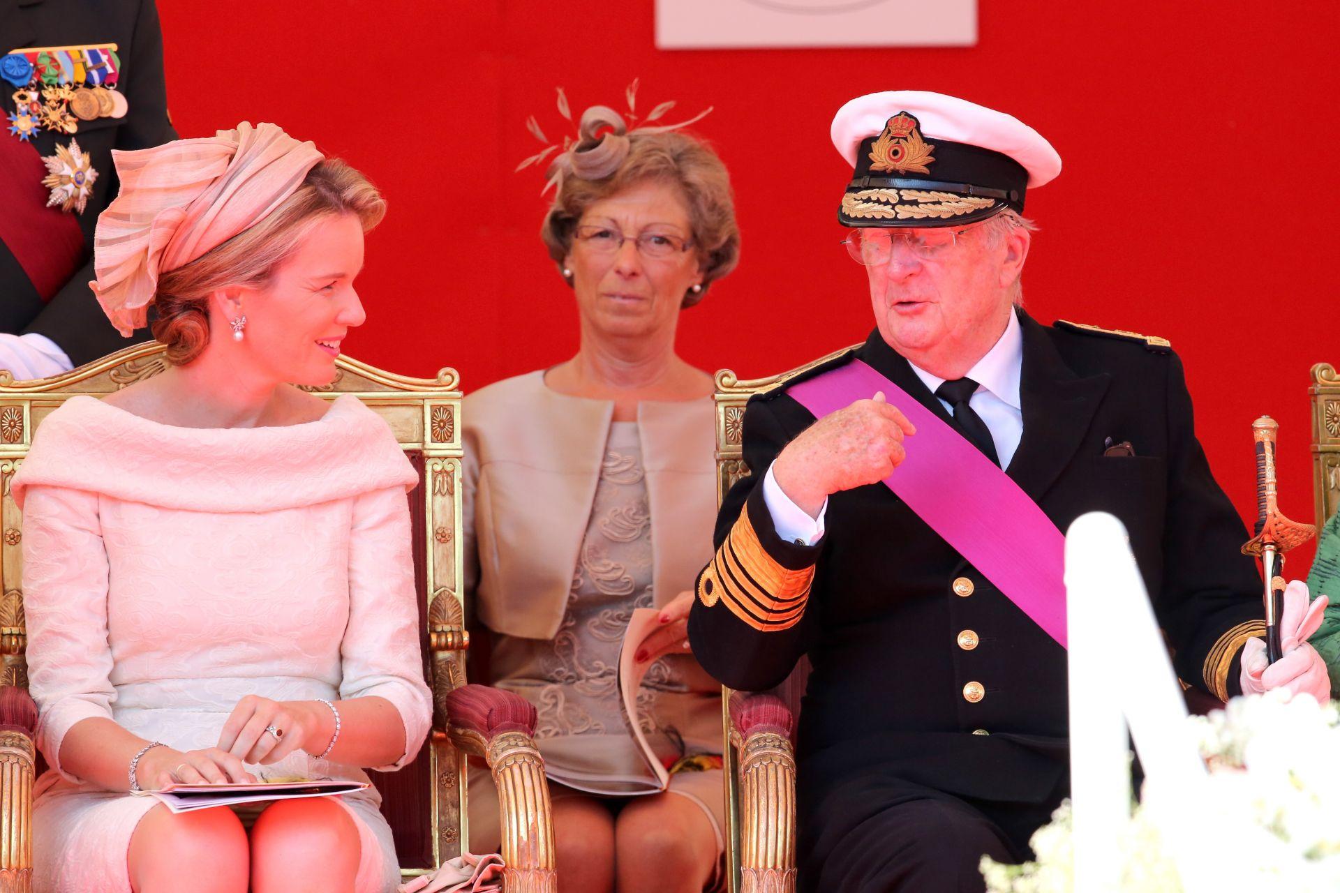 Кралят на Белгия Албер II и кралица Паола (архивни кадри)