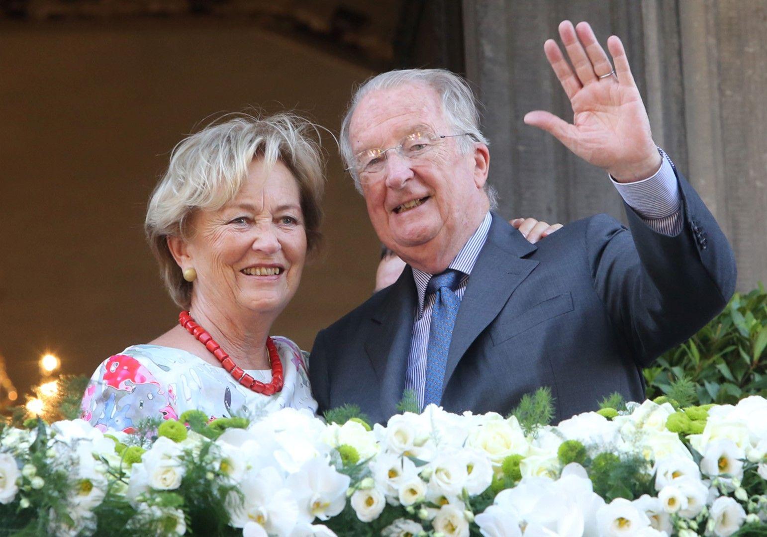 Кралят на Белгия Албер II и кралица Паола Кралят на Белгия Албер II и кралица Паола (архивни кадри)