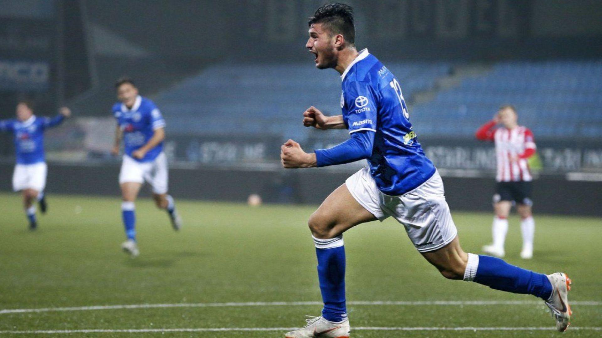Младежки национал с победен гол в Холандия