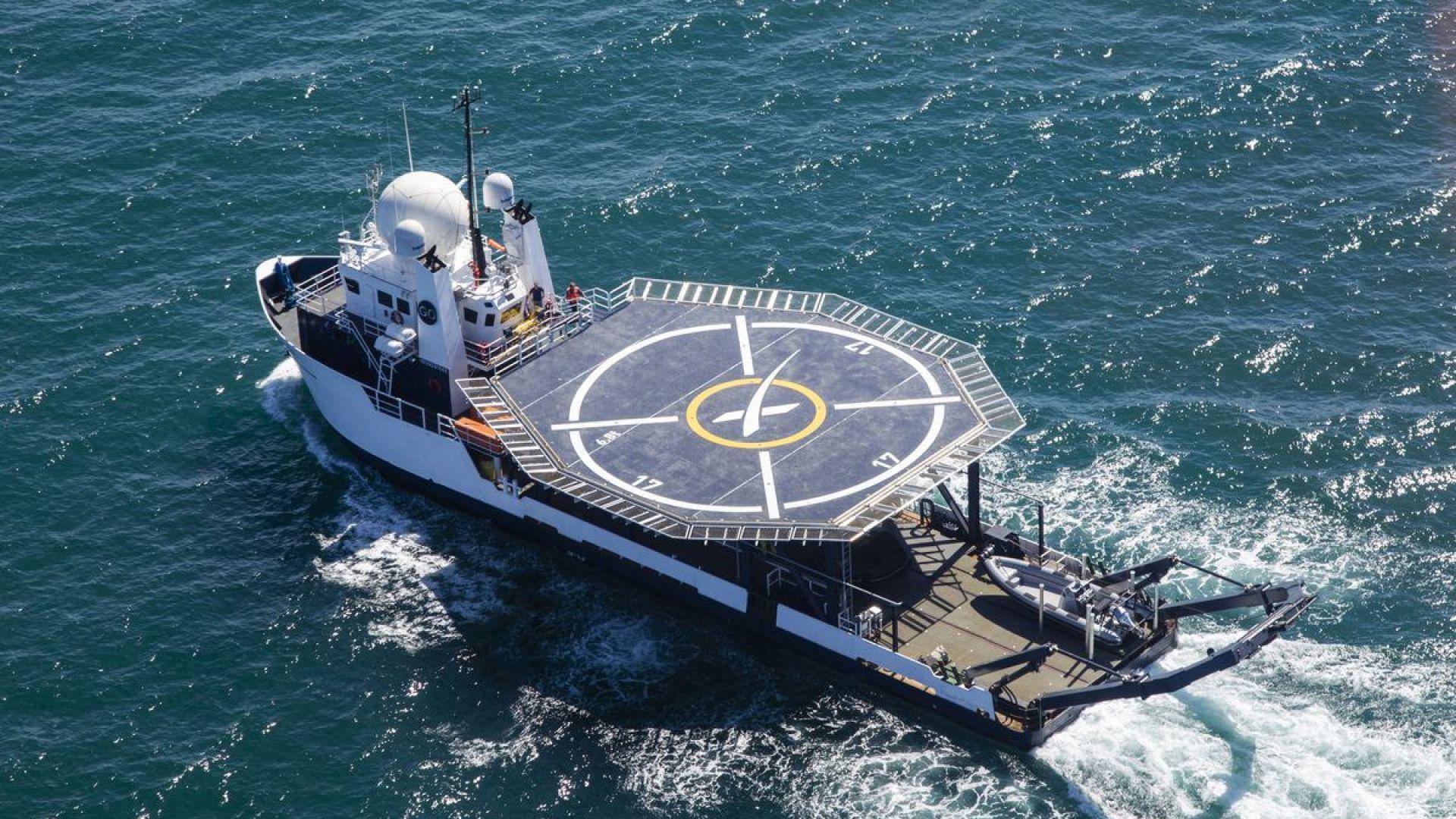 SpaceX репетира прибирането на астронавти
