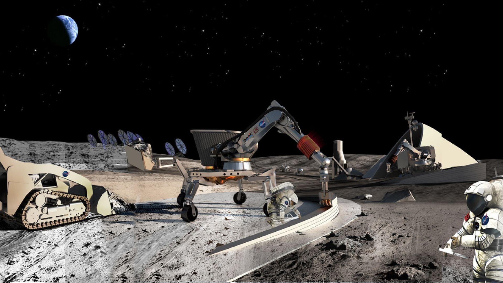 Русия праща роботи да строят на Луната