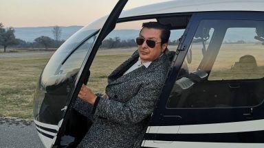 Васил Петров нае хеликоптер за концерта си в НДК
