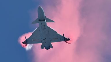"""Какво знаем за най-новия """"видим"""" самолет на Китай (снимки)"""