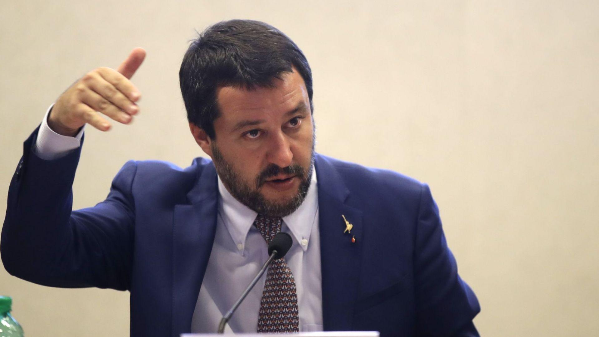 Законопроектът за по-строги имиграционни правила в Италия мина в Сената