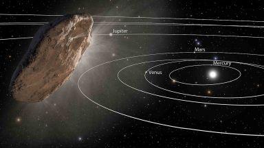 Астрономи направиха първите измервания на междузвездната комета