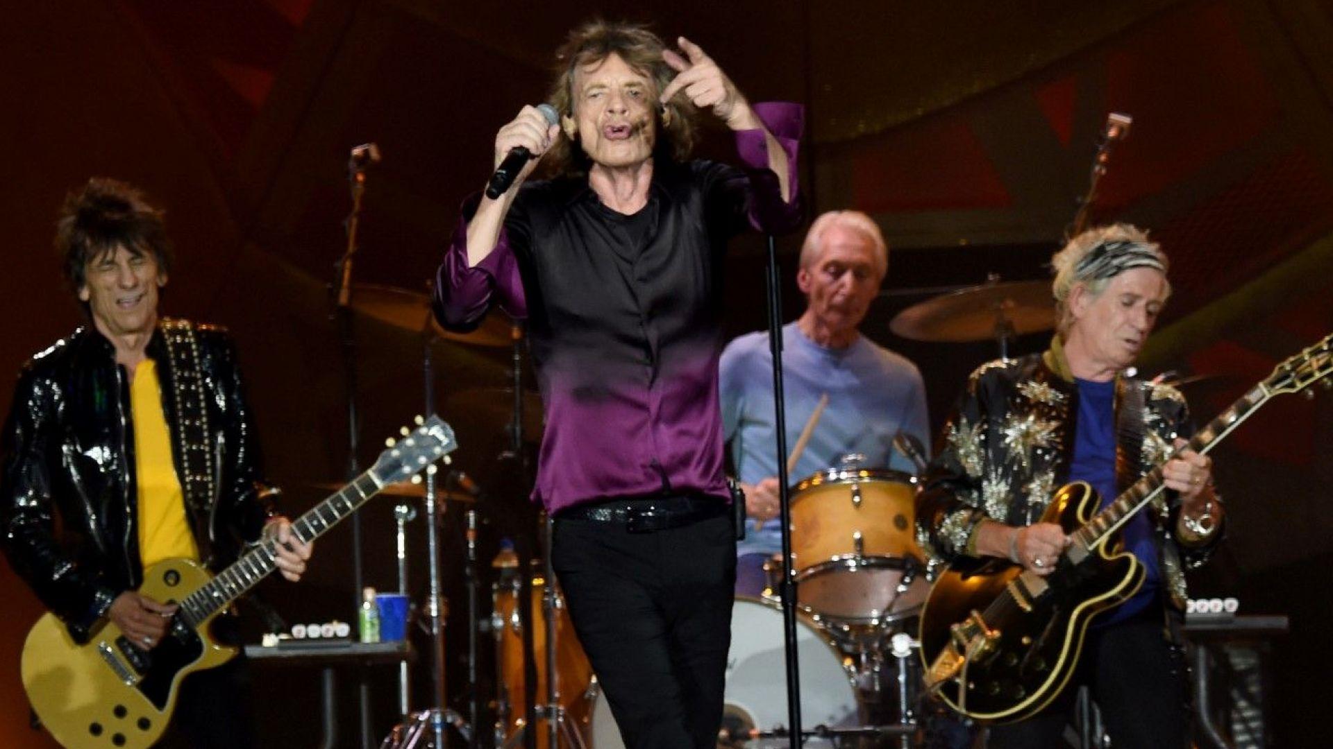 The Rolling Stones тръгват на американско турне през 2019