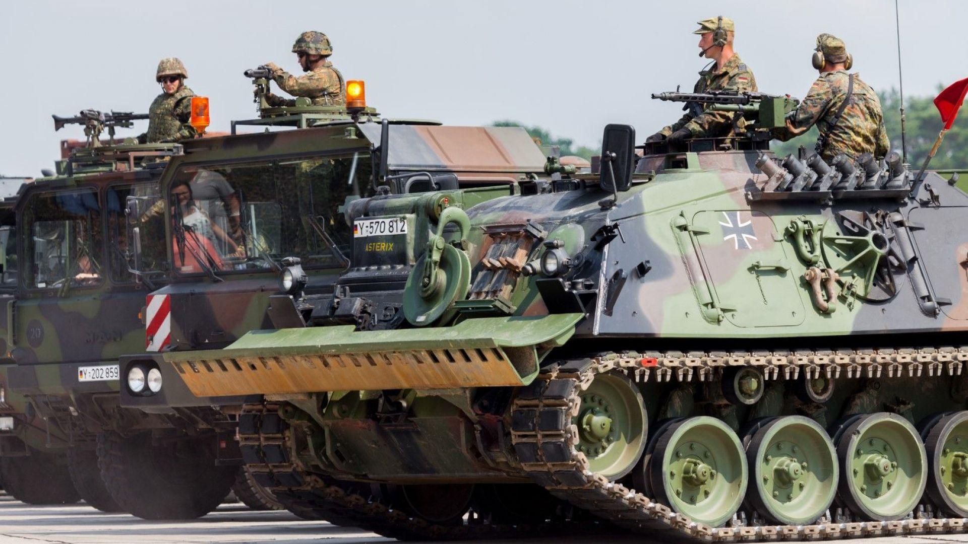 10 страни влязоха в коалиция от европейски армии