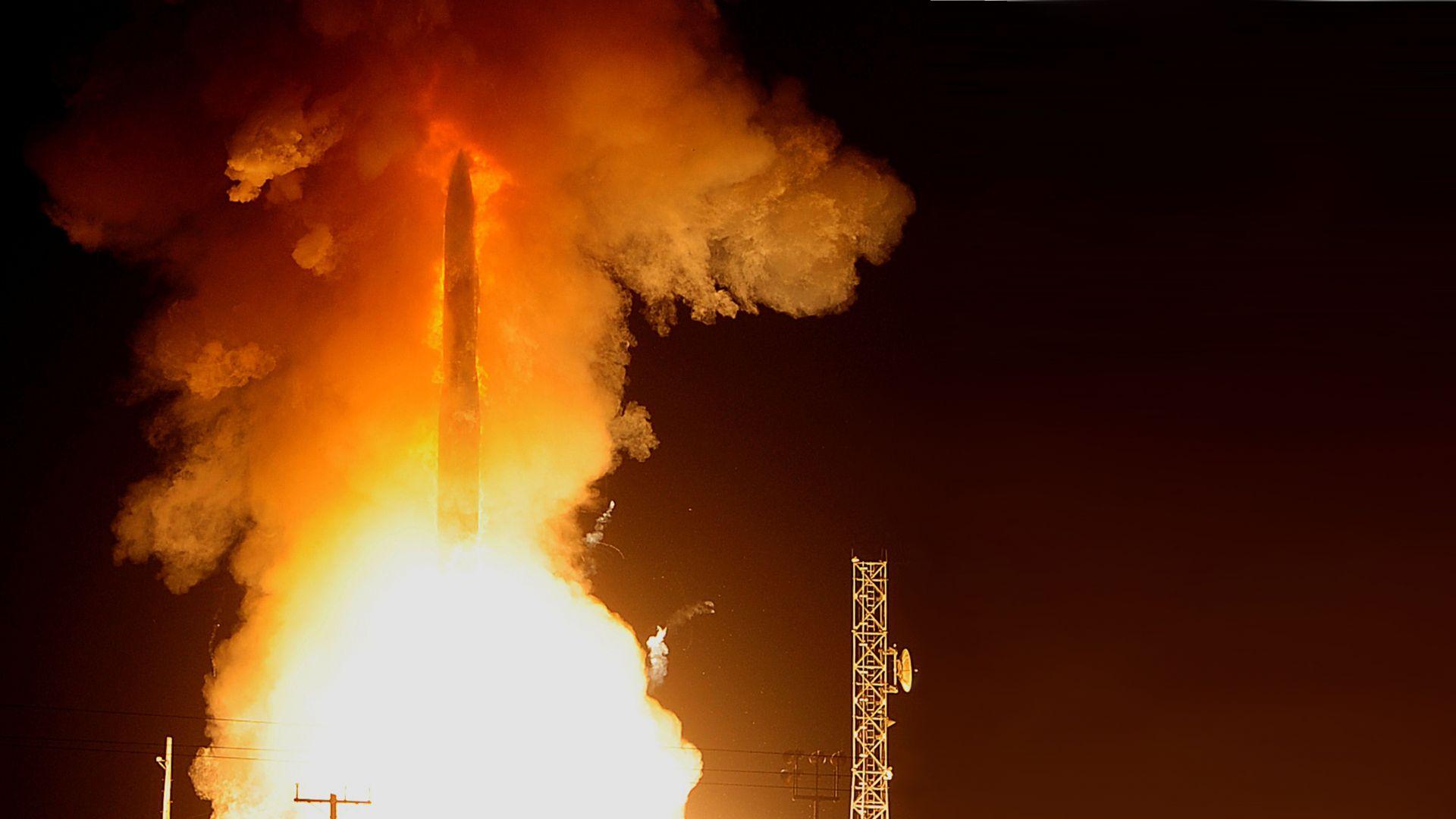 САЩ изстреляха балистична ракета
