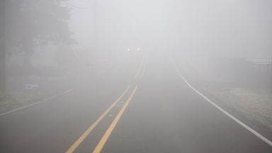 Жълт код: Половин България потъва в мъгла