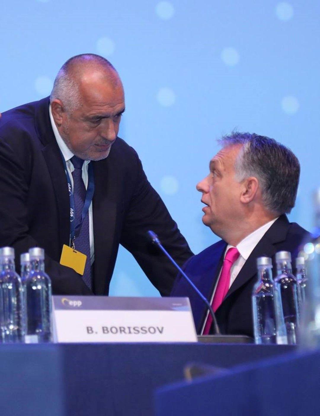 Борисов разговаря с премиера на Унгария Виктор Орбан