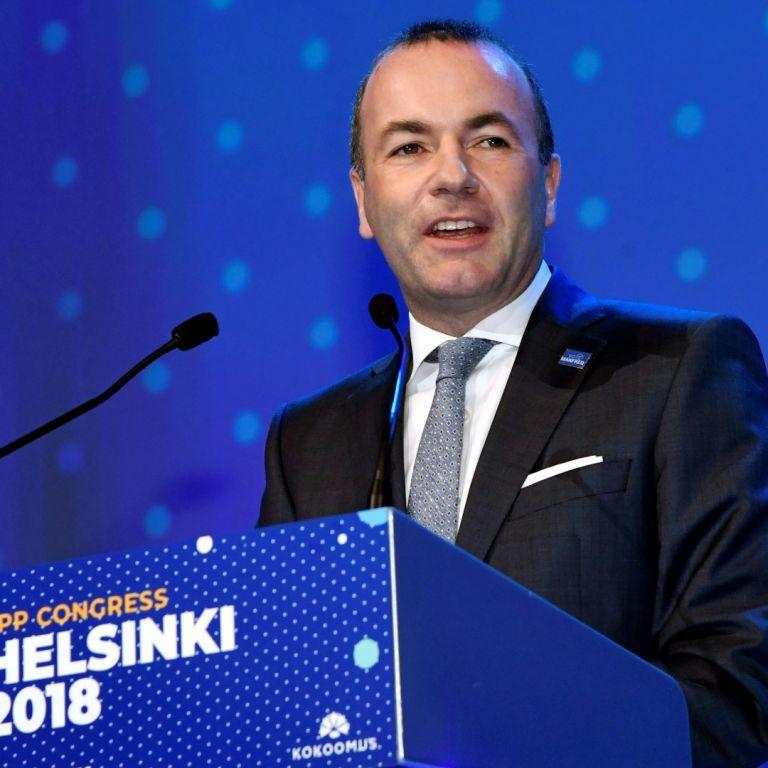 Манфред Вебер, председател на ПГ на ЕНП