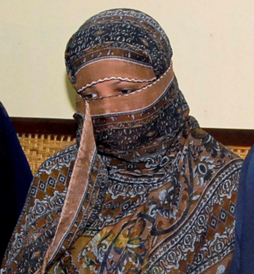 Асия Биби в съдебната зала, 20 ноември 2010 г.