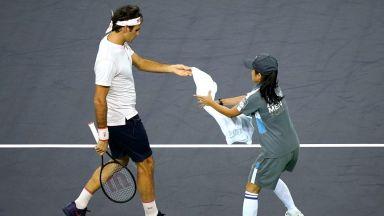 """Светът на тениса обсъжда """"въпроса с кърпите"""""""