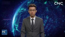 Китай представи първия телевизионен водещ с изкуствен интелект (видео)