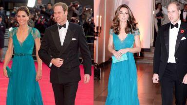 Кейт облече рокля от 2012 година (снимки)