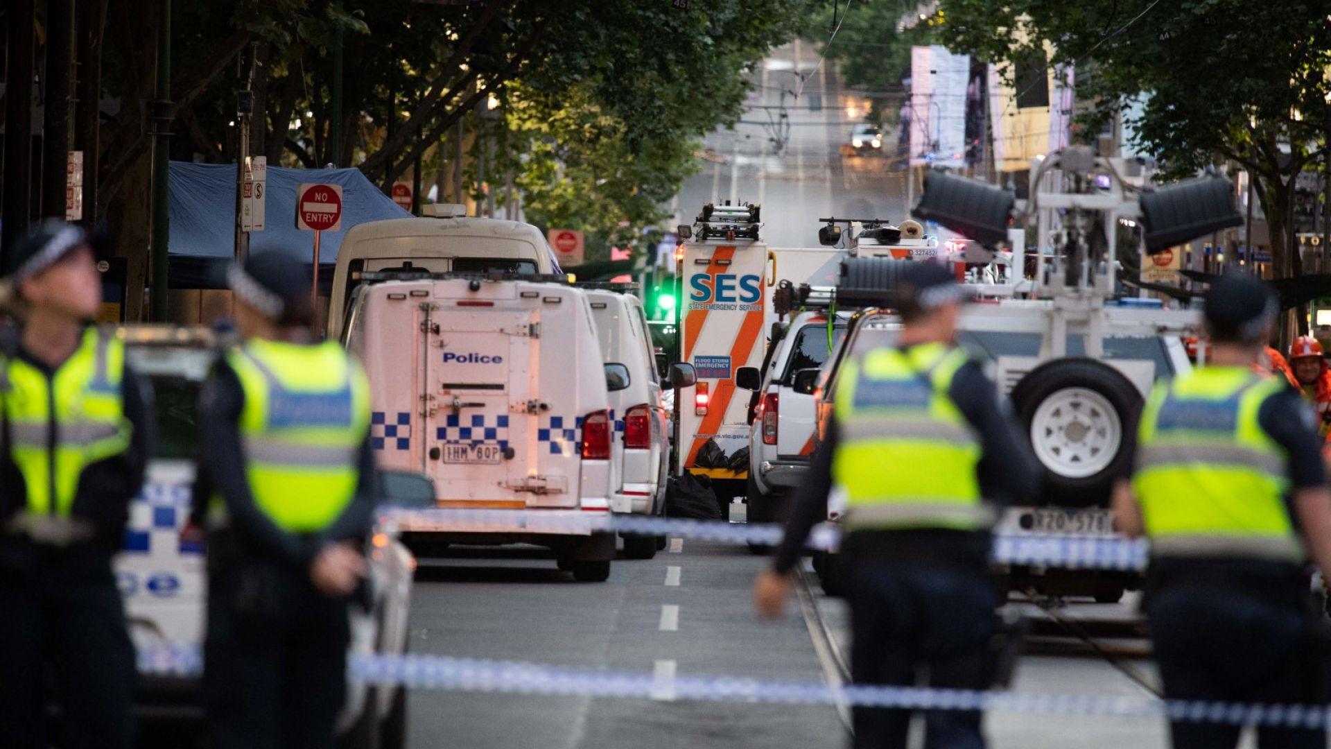 """""""Ислямска държава""""  пое отговорността за нападението с нож в Мелбърн"""