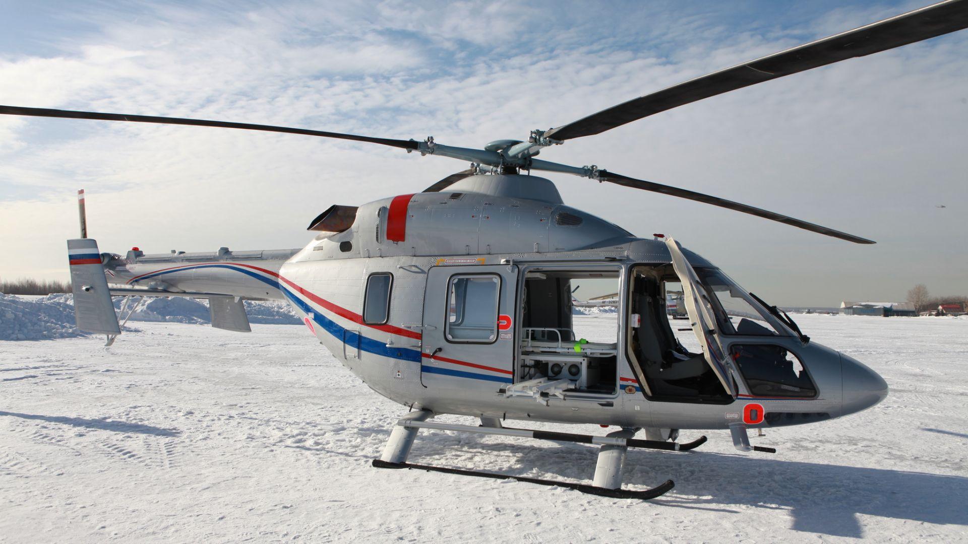 Русия прави вертолет със система за аварийно кацане