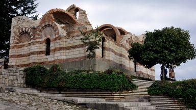 "Реставрираха храм ""Йоан Алитургетос"" в Стария Несебър (снимки)"