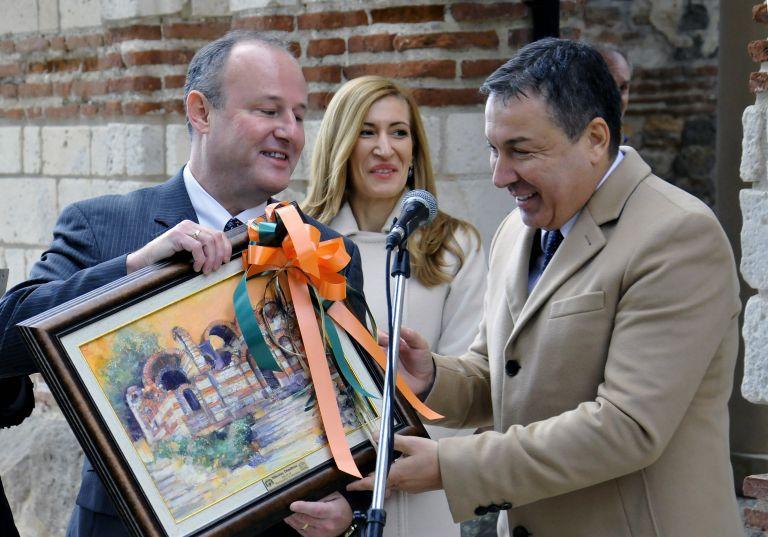Съгласихме се да финансираме този проект, защото американците вярваме, че опазването на културно-историческото наследство е споделена отговорност, заяви посланик Рубин
