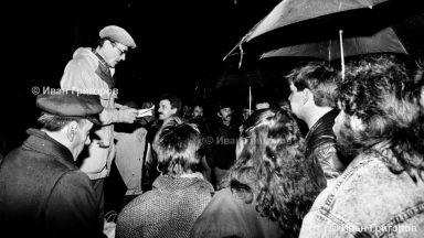 Иван Григоров засне единствените кадри на 10.XI.1989 г. от българския Хайд Парк