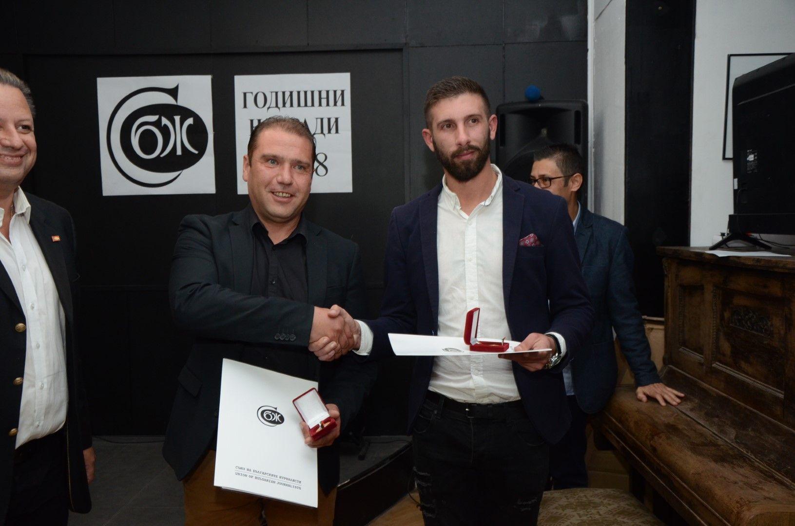 Христо Гешов и Иван Янев (вляво)