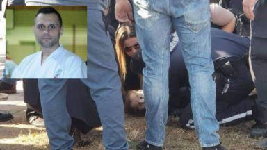 Дете колабира пред МВР-шефове, пътен полицай го спаси